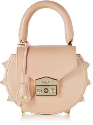 Salar Mimi Studded Leather Shoulder Bag