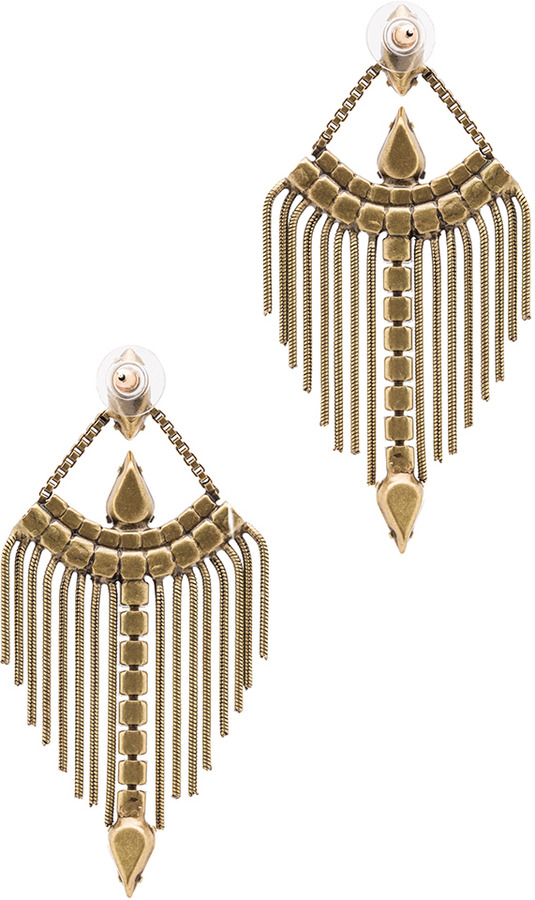 Lionette by Noa Sade TLV Earrings in Red