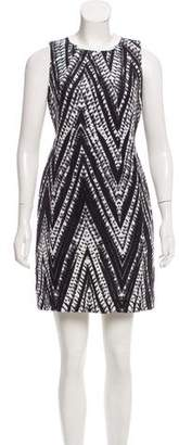 Calvin Klein Abstract Print Mini Dress