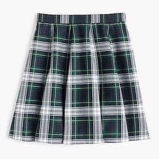 J.Crew Full mini skirt in tartan plaid