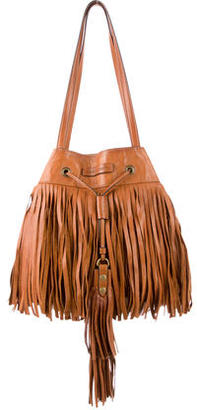 Frye Heidi Fringe Bucket Bag $270 thestylecure.com