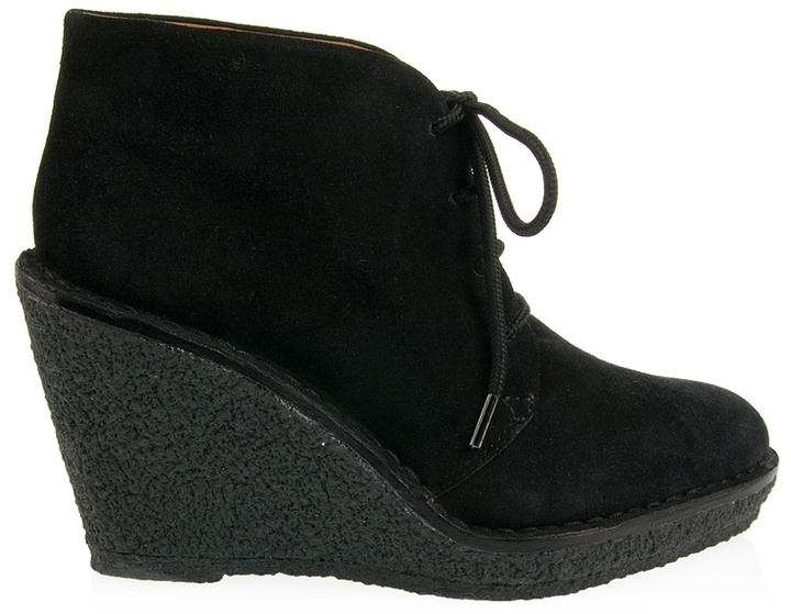 MARC BY MARC JACOBS - Suede wedge ankle boot