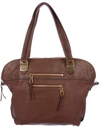 Chloé Coated Leather Handle Bag