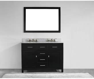 Willa Arlo Interiors Sverre 48 Double Bathroom Vanity Set with Mirror