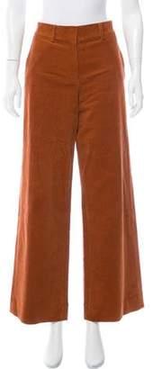 Tory Burch High-Rise Corduroy Jeans