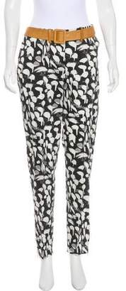 Sophie Theallet Printed High-Rise Pants w/ Tags