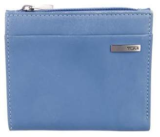 Tumi Leather Compact Wallet