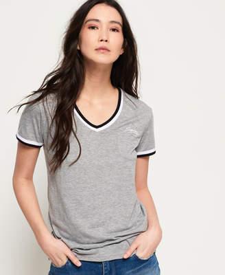 Superdry Retro V Neck T-shirt