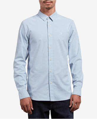 Volcom Men Oxford Stretch Shirt