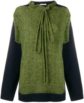 J.W.Anderson paneled sweater