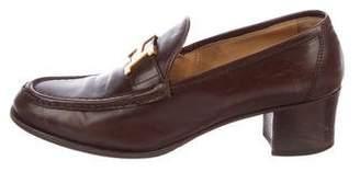Hermes Round-Toe Loafer Pumps