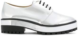 Schutz platform oxford shoes