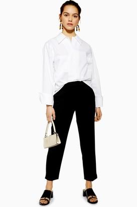 Topshop PETITE Black Cigarette Trousers
