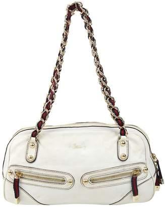 Gucci White Leather Handbags