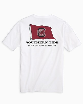 Southern Tide Gameday Nautical Flags T-shirt - University of South Carolina