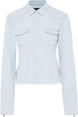 RtA Frayed Denim Shirt