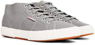 Superga 2754 Cotu Mid Cut Plimsolls Grey