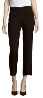 Carolina Herrera Solid Silk Pants