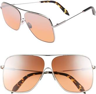 Victoria Beckham Loop 61mm Navigator Sunglasses