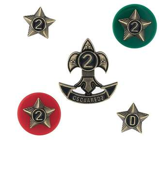 DSQUARED2 star pin