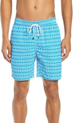 Mr.Swim Mr. Swim Hexagon Stripe Swim Trunks