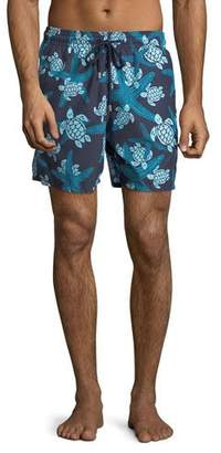 Vilebrequin Moorea Turtle & Starfish Swim Trunks