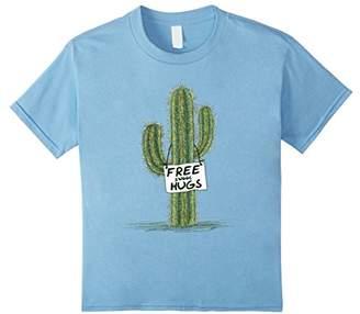 Cactus Cacti Funny Art Humor Free Sweet Hugs T-shirt