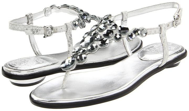 Vince Camuto Jordies (Glitter grey) - Footwear