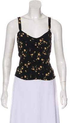 Reformation Printed Sleeveless Top w/ Tags