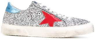 Golden Goose May glitter sneakers