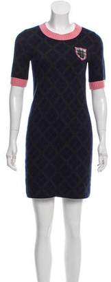 Chanel Cashmere & Alpaca-Blend Dress