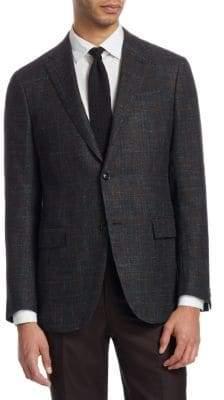Ermenegildo Zegna Men's Milano Slim Sportcoat - Grey - Size 56 (46) R