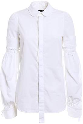 DSQUARED2 Puff Sleeved Cotton Shirt