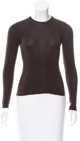 pradaPrada Rib Knit Crew Neck Sweater
