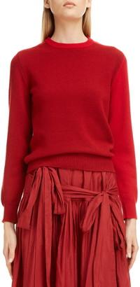 Sara Lanzi Colorblock Wool & Cashmere Sweater
