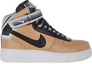 Nike WOMEN'S AIR FORCE 1 RT MID SNEAKERS-BEIGE, TAN SIZE 12