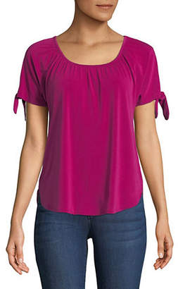 INC International Concepts Bow Shoulder Top