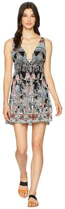 Free People Me To You Printed Mini Women's Dress