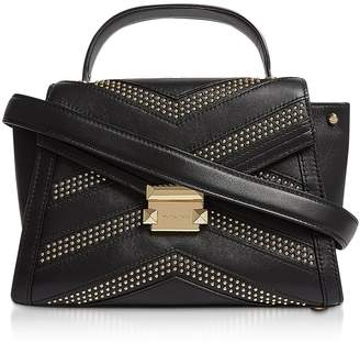 8d7840243940bf Michael Kors Whitney Medium Studded Top-handle Satchel Bag
