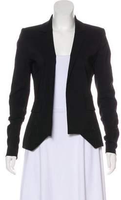 Preen by Thornton Bregazzi Wool Open Front Blazer