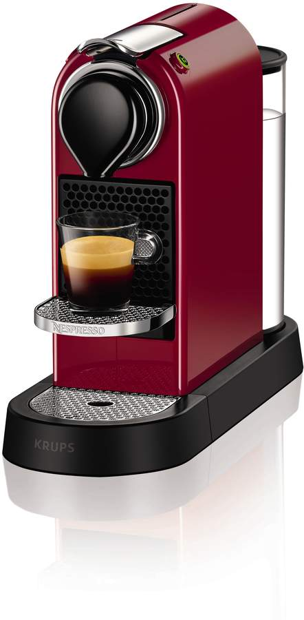Krups Red Citiz Nespresso Coffee Machine 2016 Design