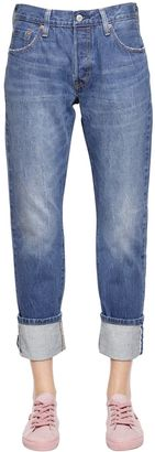 501 Classic Selvedge Cotton Denim Jeans $157 thestylecure.com