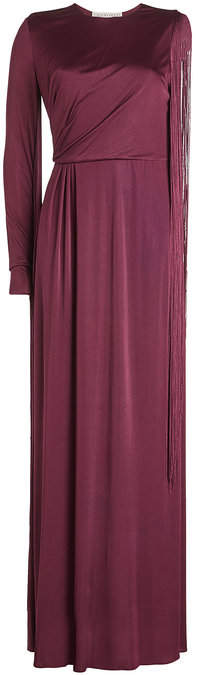 Emilio Pucci Floor Length Gown with One Sleeve