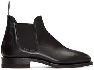 R.M. Williams Black Sydney Boots