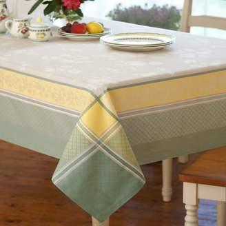"Villeroy & Boch Fleurence Jacquard Tablecloth, 63"" x 96"""