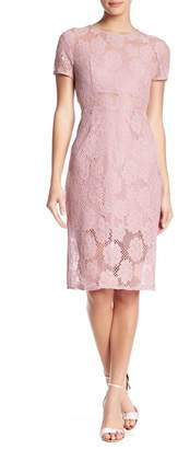 NSR Short Sleeve Lace Dress