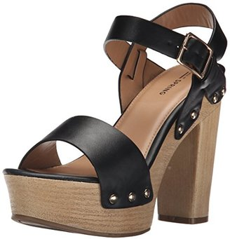 Call It Spring Women's Uloan Heeled Sandal $59.99 thestylecure.com