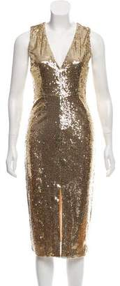 Alice + Olivia Leora Sequin Dress w/ Tags