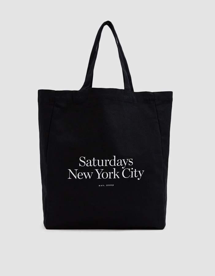 Saturdays Nyc Miller Standard Tote in Black