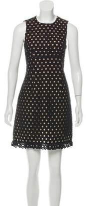 Michael Kors Linen Eyelet Dress